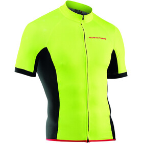 Northwave Force Jersey Korte Mouwen Heren, yellowfluo